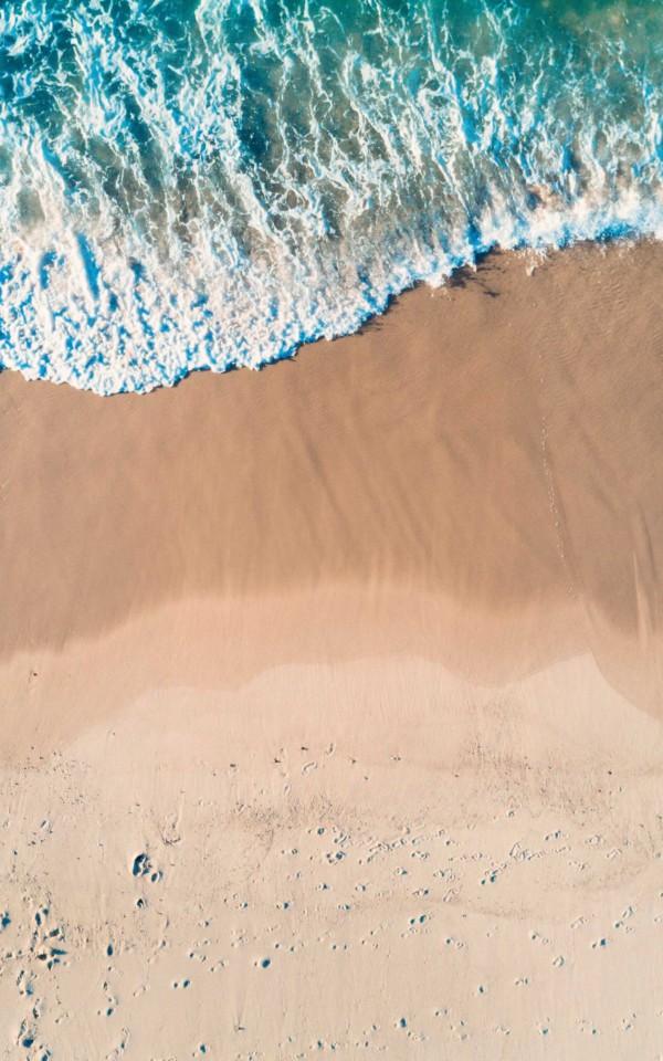 海岸線ビーチ